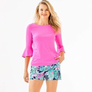 LILLY PULITZER Pink Belle Top